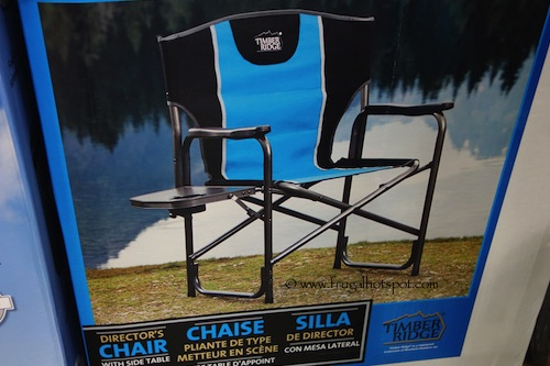 Timber Ridge Director's Chair with Side Table Costco