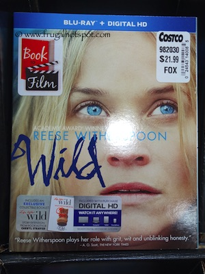 Wild Movie with Reese Witherspoon Blu-ray DVD Costco