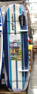 "Wavestorm 9'6"" Stand-Up Paddleboard Costco Price"