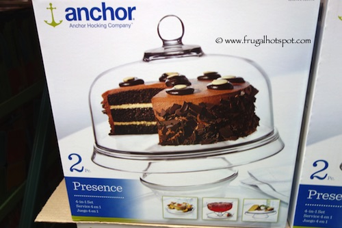 Anchor Hocking Presence 4-in-1 Serving Set Costco
