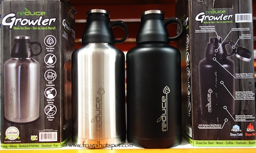 Reduce 64 oz Stainless Steel Growler Costco #986027