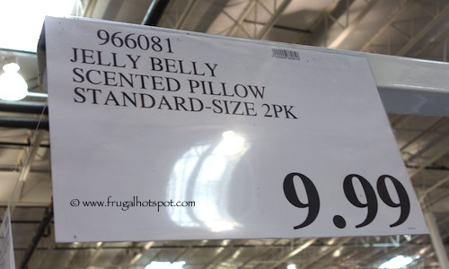 Jelly Belly Scented Pillow Standard Size 2-Pack Costco Price