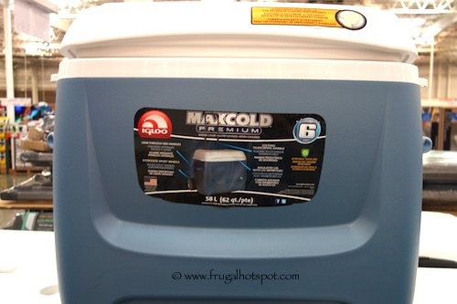 Igloo Maxcold 62 Quart Rolling cooler Costco