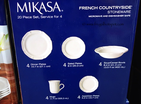 Costco Clearance: Mikasa French Countryside Stoneware 20-Piece ...