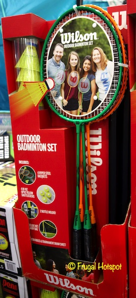 Wilson Outdoor Badminton Set Costco