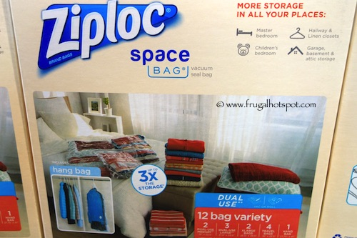 The Space Bag 6 Bag Combo Set provides more than enough space to store your extra clothing, being, and other accessories. The set contains four medium sized bags and four larger bags. It also contains three extra large bags and an even bigger roll up bag for convenience/5(96).