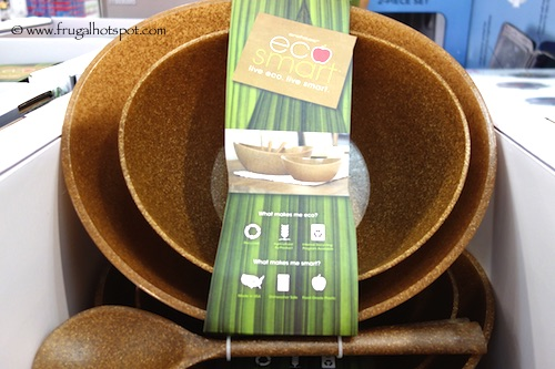 Eco-Smart by Architec Poly-Flax 4-Piece Serving Set Costco