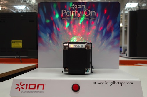 Ion Party On ISP43 Mini Speaker with Party Lights Costco
