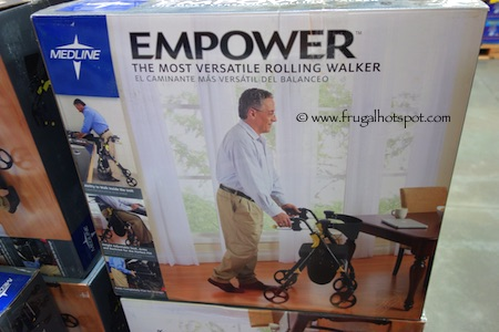 Medline Empower Rolling Walker Costco