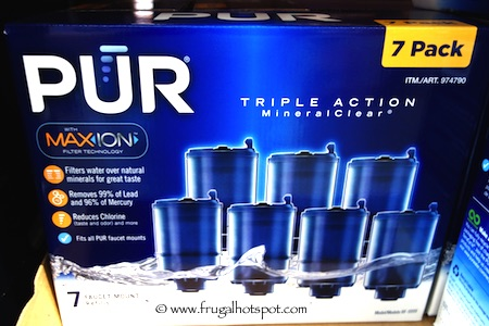 Costco Sale: Pur Maxion Faucet Mount Filter Refills 7-Pack $38.99 ...