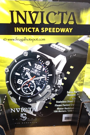Invicta Speedway Mens Chronograph Watch Costco