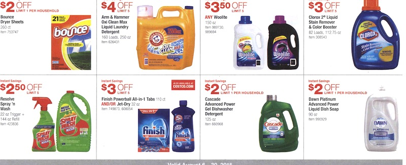 Costco Coupon Book August 6, 2015 - August 30, 2015. Page 11