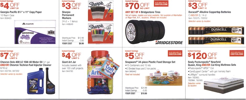 Costco Coupon Book August 6, 2015 - August 30, 2015. Page 13