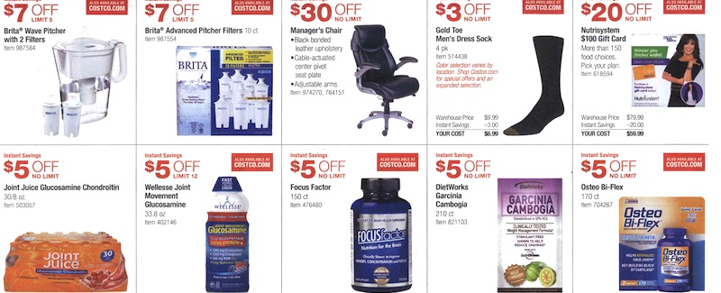 Costco Coupon Book August 6, 2015 - August 30, 2015. Page 14