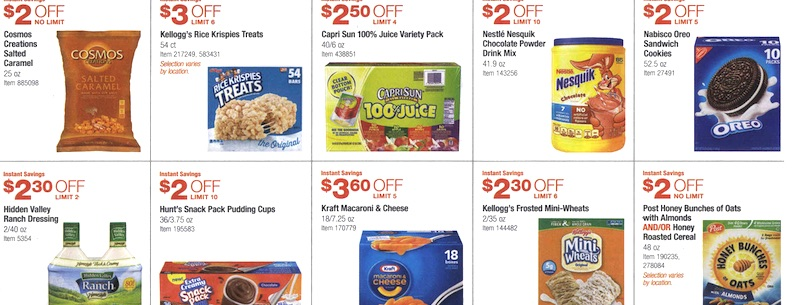 Costco Coupon Book August 6, 2015 - August 30, 2015. Page 6