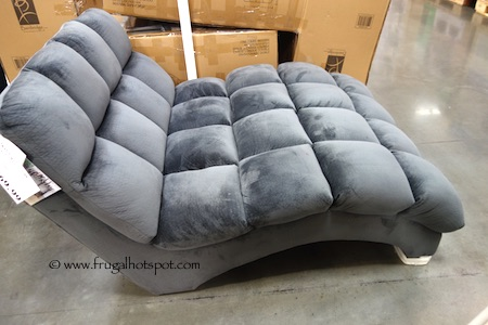 emerald home boylston double chaise lounge costco frugal hotspot