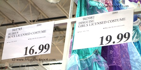 Rubies Boys & Disguise Girls Licensed Costumes Costco Price
