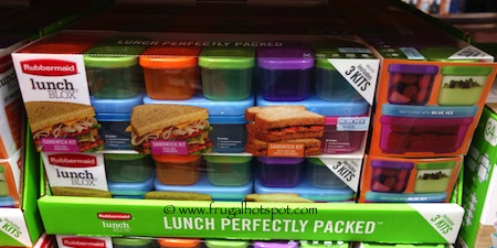 Rubbermaid Lunch Blox 3-Kits Costco