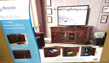 Bayside Furnishings Silverdale TV Console Costco