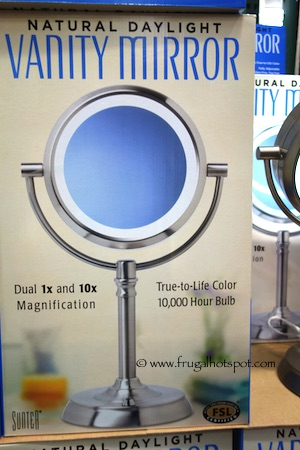 Sunter Lighted Vanity Mirror Reviews : Makeup Mirror With Light Costco - Makeup Vidalondon