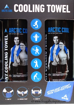 Arctic Cool Cooling Towel 2-Pack Costco