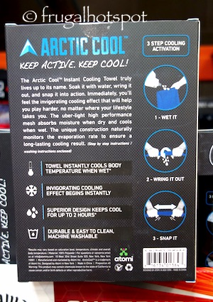 Arctic Cool Cooling Towel 2-Pack