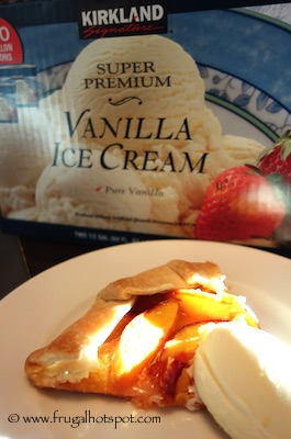 Kirkland Signature Vanilla Ice Cream Costco & Organic Nectarines