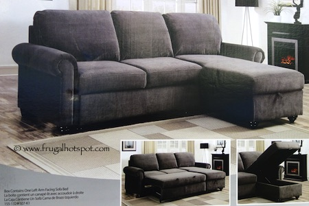 Pulaski Newton Convertible Sofa Costco