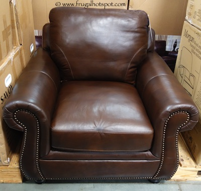 Marks & Cohen Savoy Leather Chair Costco
