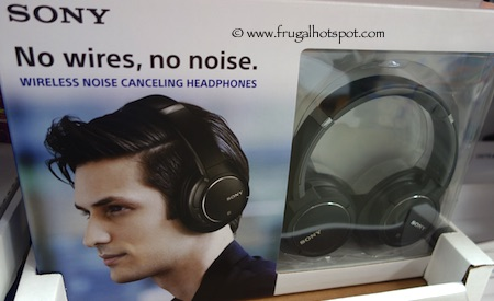 Sony Wireless Noise Canceling Headphones MDRZX770 Costco
