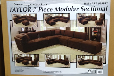 Marks & Cohen Taylor 7-Pc Fabric Modular Sectional Costco