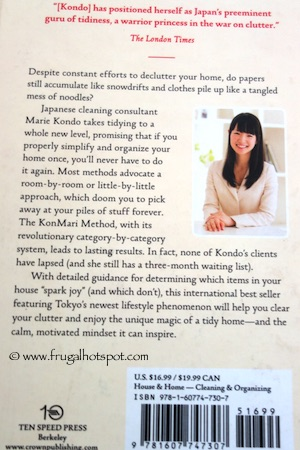 The Life-Changing Magic of Tidying Up by Marie Kondo Costco