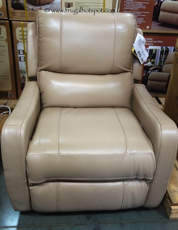 Awe Inspiring Costco Cheers Windsor Power Leather Recliner 499 99 Dailytribune Chair Design For Home Dailytribuneorg