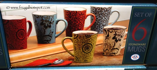 Bia Stoneware Mugs 6-Piece Costco
