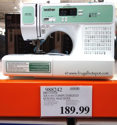 Brother XR3140 Computerized Sewing & Quilting Machine Costco Price