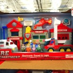 Little Learner Fire Department Electronic Sound and Light Costco