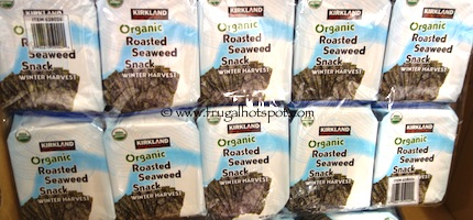 Kirkland Signature Organic Roasted Seaweed Costco