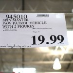 Spin Master Paw Patrol Vehicle with 2 Figures Costco Price
