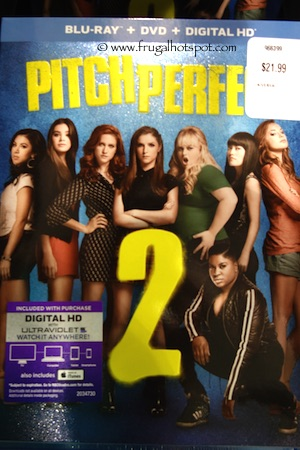 Pitch Perfect 2 Blu-ray + DVD + Digital HD Costco