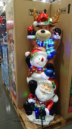 "60"" Stacking Christmas Characters Multi Color LED Lights Costco"