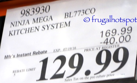 Ninja Mega Kitchen System 1500 Costco Price | Frugal Hotspot