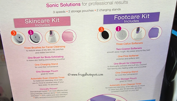 Conair True Glow Skincare and Footcare Kits Costco