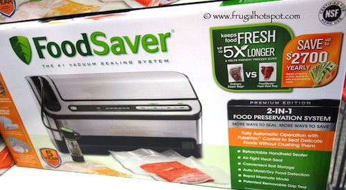 Costco Sale: FoodSaver 4980 Automatic Vacuum Sealing System $129.99