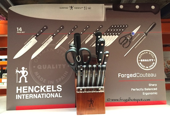 J.A. Henckels 14-Piece Forged Cutlery Set with Block Costco