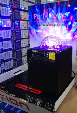 Ion Party Power Wireless Speaker with Party Lights Costco