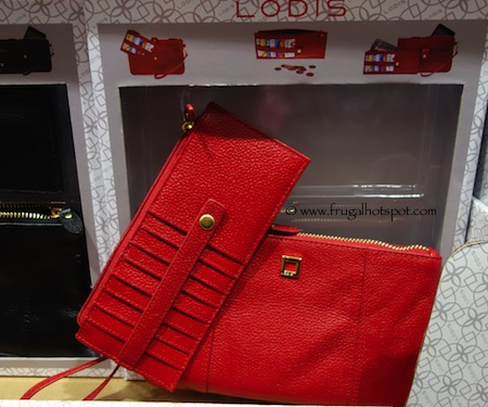 Lodis Olivia Wristlet Card Stacker Red Costco