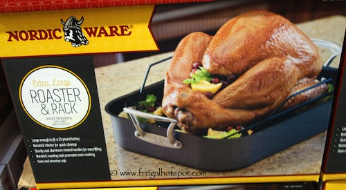 Nordic Ware Extra Large Roasting Pan with Rack Costco