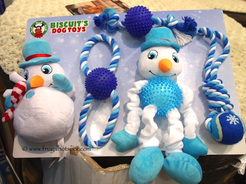 Costco: Biscuit's Snowman Dog Toys 5-Pc $12.99