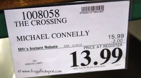 The Crossing by Michael Connelly Costco Price