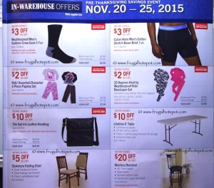 Costco Pre-Thanksgiving Savings Coupon Book: November 20-30, 2015. Page 10